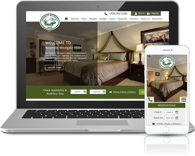Hotel websites Powered by INNsight offer a top usability experience for guests