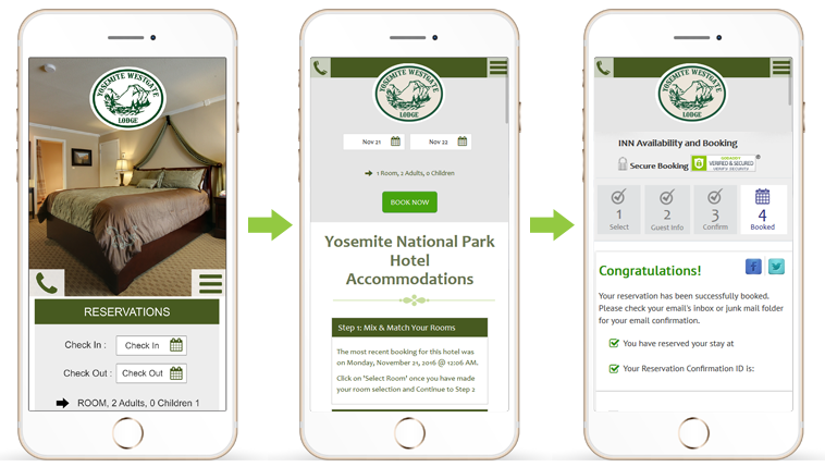 Hotel Reservations with Mobile Devices