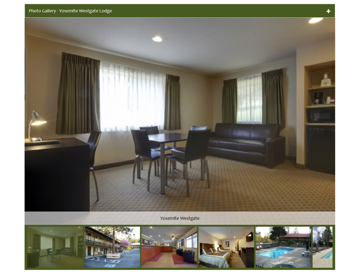 Hotel Website Design with High Resolution Photos
