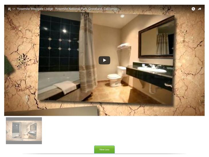 Hotel Website Design with High Resolution Videos