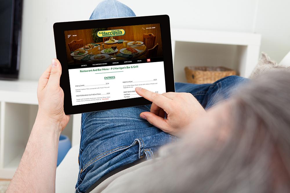 Fine Tuned Responsive Restaurant Website Design by INNsight